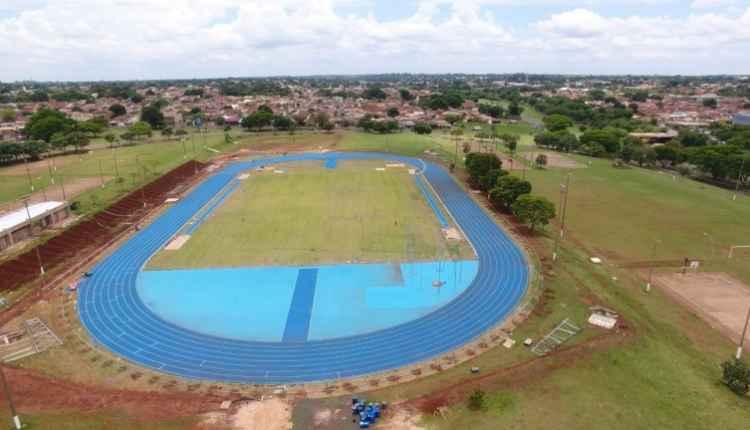 Pista de atletismo do Parque Ayrton Senna. (Foto: PMCG)