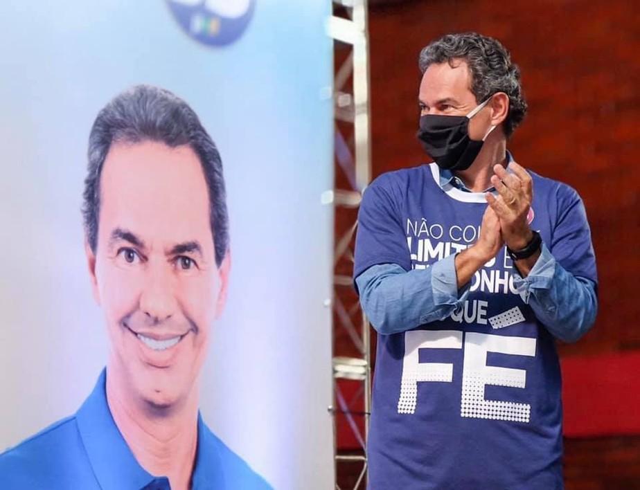 Marquinhos Trad atual prefeito.