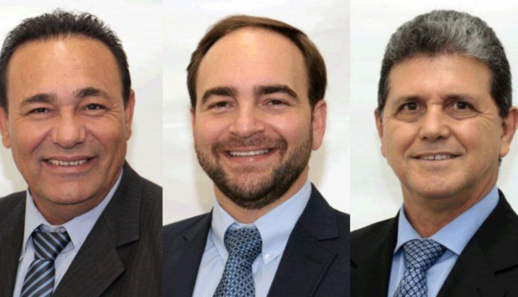 Carlão, João César Mattogrosso e João Rocha são cotados para assumir a presidência da Câmara em 2021.
