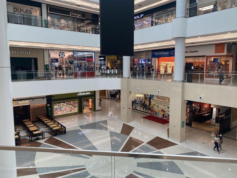 Shopping Tatuapé, em São Paulo, na reabertura ao público - (Foto: JHONY INÁCIO/FUTURA PRESS/ESTADÃO CONTEÚDO 18.04.2021)